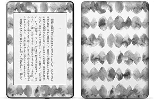 igsticker kindle paperwhite 第4世代 専用スキンシール キンドル ペーパーホワイト タブレット 電子書籍 裏表2枚セット カバー 保護 フィルム ステッカー 016153 モノクロ