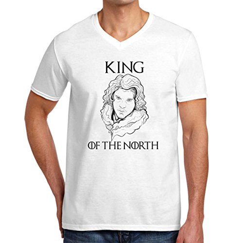 King Of The North Game Of Thrones Design Herren V-Neck