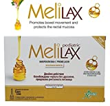 Aboca Melilax Pediatric 6 Micro Enemas for Infants and Children.