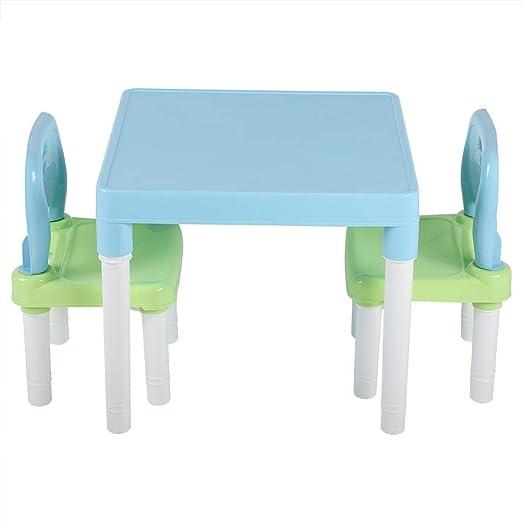 Silla Conjunto de mesa, Childrens for niños mesa de plástico y ...