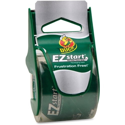 Duck 07307 EZ Start Carton Sealing Tape/Dispenser, 1.88
