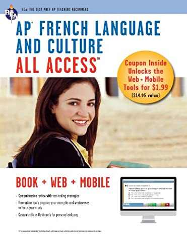 AP French Language & Culture All Access w/Audio: Book + Online + Mobile (Advanced Placement (AP) All (Kindle Audio Ap)