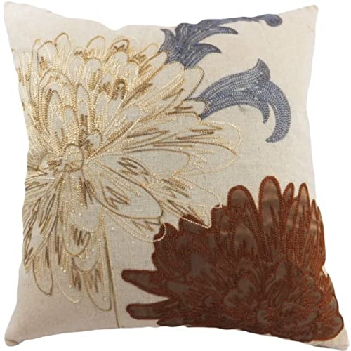Decorative Pillows Brown And Blues Amazon Simple Blue And Brown Decorative Pillows