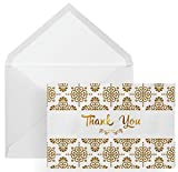 100 Thank You Cards, Envelopes, and Envelope Seal Stickers – Grate Cards Company