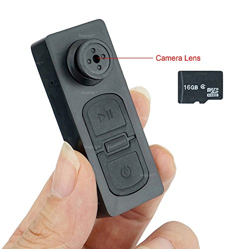 Toughsty™ 16GB Capacity Button Phinhole Camera Hidden Came