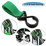 Multil Purpose Baby Stroller Hooks- Hanger for Baby Diaper Bags, Purse, Groceries, Clothing, Shopping Bags-6 PCS price