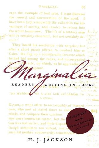 Image of Marginalia: Readers Writing in Books