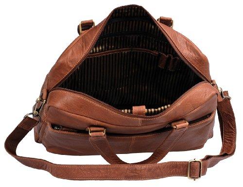 Stanford - Laptoptasche by CB in Echt-Leder, cognac - LEAS Classic Bags