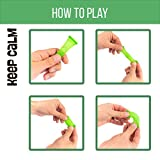 FIDGET TOYS BPA-FREE (Package of 8) by KeepCalm - Anti-Stress, Anxiety for Adults and Children - Soothing Marble Fidgets Help With ADHD and Autism - Helps Relieve Stress and Increase Focus