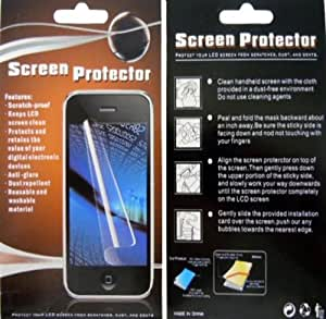 IMAGITOUCH(TM) HTC Pure Clear LCD Screen Protector Cover with Cleaning Cloth + Stylus Pen