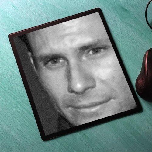 (Seasons Christian Slater - Original Art Mouse Mat #js004)