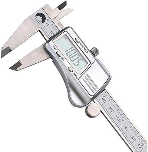 Queenwind 0-150mm/0.01 デジタル電子のバーニアキャリパーのマイクロメーターゲージ測定ツールステンレス鋼