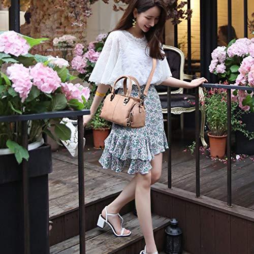 capacité bandoulière à Women Grande Bag Zhwei Kaki Noir Sacs New Couleur Mode coréenne Version Simple Y05vw