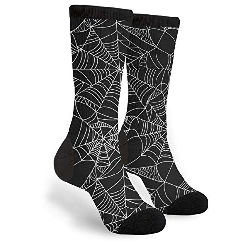 KSSChr Men Women Classic Crew Socks Spider Web Classics Personalized Socks Sport Athletic Stockings ()