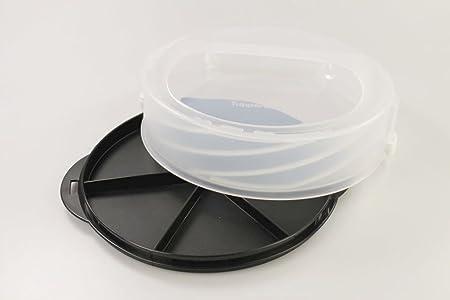 TUPPERWARE Tortentwist schwarz Tortenbehälter Exclusiv Twist schwarz 10158