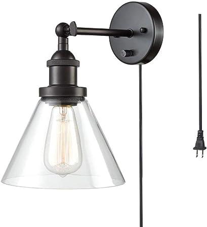 SUT Lámparas Apliques, Luces Clásicas Iluminación,Vendimia Rústico,para Bombilla Escalera Dormitorio Espejo Hotel(220v),Beltline: Amazon.es: Hogar