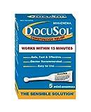 Docusol Docusate Sodium Mini Enema, Clear, 5