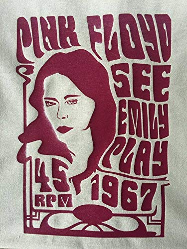 T Shirt See Emily Play Art Nouveau Psychedelic
