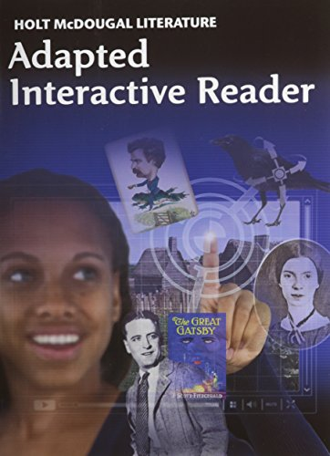 (Holt McDougal Literature: Adapted Interactive Reader Grade 11 American Literature )