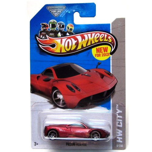 Amazon.com: Hot Wheels 2013 HW City Pagani Huayra 8/250, Red: Toys