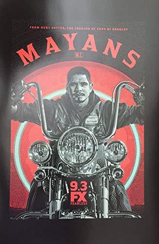 "MAYANS MC - 12""x18"" Original Promo TV Poster SDCC 2019 Sons of Anarchy"