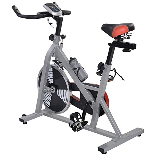 Goplus Exercise Bike Indoor Cycling Health Fitness Workout Bicycle Stationary Exercising by Goplus