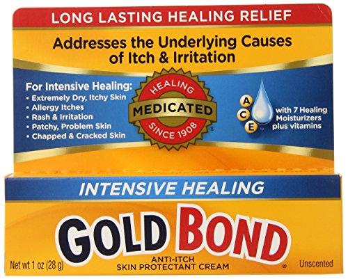 Gold Bond Intensive Healing Cream, 1-Ounce Tubes (Pack of ()