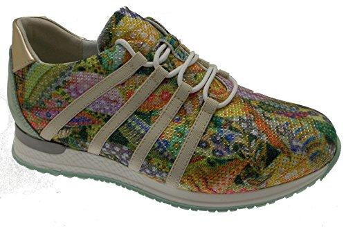 Lacets Loren Baskets Fantaisie C3732 Multicore Orthopédique Vert Plantaire r6wx6TSX