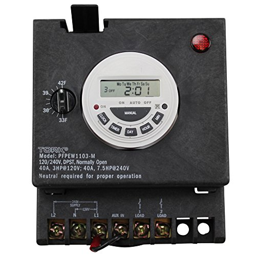 NSi Industries PFPEW1103-M 7-Day Digital Swimming Pool Timer with Freeze Protection (Freeze Protection Controls Circuit)