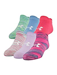 Under Armour Youth Essential Calcetines Invisibles, 6 Pares