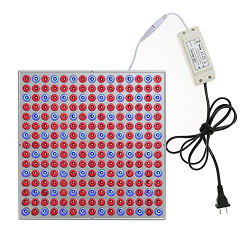 ALight House 45W Ultra-thin Grow Light Panel,Red Blue Grow Light Fixture with Strong Reflection and Higher Efficiency For Hydroponic Garden Greenhouse Indoor Plants (45W)