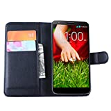LG G2 Case, Gift_Source PU Leather Wallet