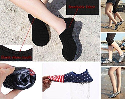 Mare Scarpe Uomini Cosstars da Antiscivolo Yoga Elastico Ballo Super Scarpe Bagno Immersione Traspirante da Scoglio Donna Leggere Ragazzi Scarpette da Spiaggia Materiale FwC8U1xqF