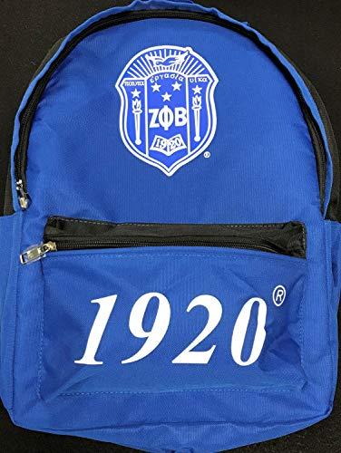 Zeta Phi Beta USB Port Backpack