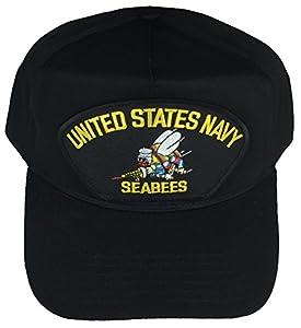 U.S. NAVY SEABEES USN HAT - BLACK - Veteran Owned Business