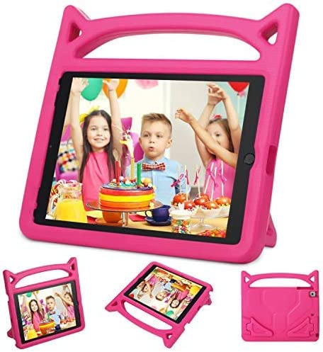 Auorld Light Weight Kids Case Cover Handle Stand Case for Apple iPad 9.7 Inch 2017/2018