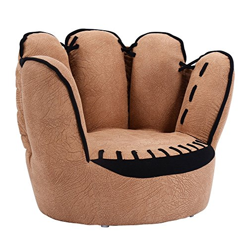 Kids Sofa Five Finger Armrest Chair Couch Children Living Room Toddler Gift by Angelwing