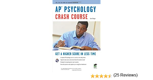 Ap psychology crash course book online advanced placement ap ap psychology crash course book online advanced placement ap crash course larry krieger 9780738607818 amazon books fandeluxe Choice Image