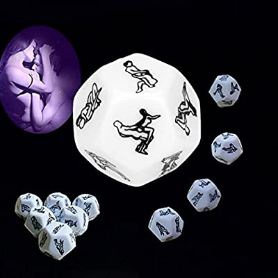 KFSO New Sex Funny Adult Love Humour Game Romance Erotic Craps Dice Pipe Toys