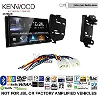Volunteer Audio Kenwood DDX9904S Double Din Radio Install Kit with Apple CarPlay Android Auto Bluetooth Fits 2011-2015 Scion tC