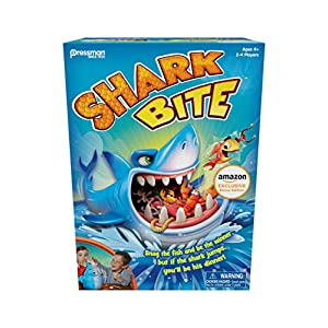 Shark Bite — Roll the Die and Fish for Colorful Sea Creatures Before the Shark Bites Game!