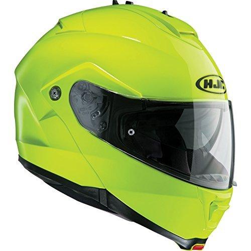 IM2FL - HJC IS-MAX II Flip Front Motorcycle Helmet L Fluorescent by HJC Helmets