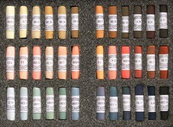 Unison Soft Pastels : Set of 36 Portrait