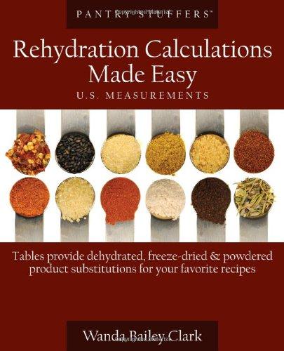 Pantry Stuffers Rehydration Calculations Made Easy: U.S. Measurements / Pantry Stuffers Rehydration Calculations Made Easy: Metric Measurements