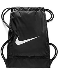 577fe693bf6 Brasilia Training Gymsack, Drawstring Backpack with Zippered Sides,  Water-Resistant Bag · Nike