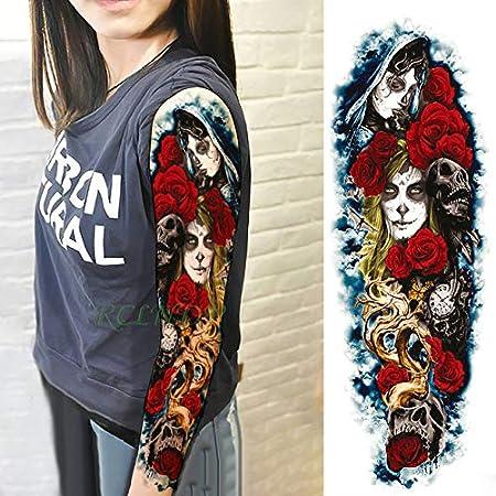 3pcs Adhesivo Impermeable Tatuaje del Ojo de pájaro de Rose Reloj ...