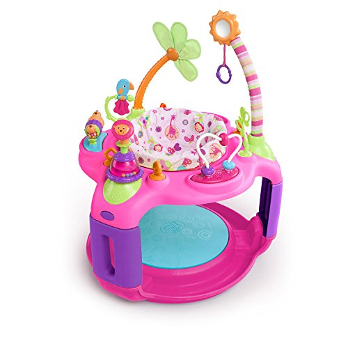 Sweet Safari Bounce-A-Round Entertainer (Girls For Jumpers Baby)