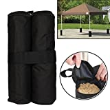 Generic Outdoor Camping Canopies with Sandbag Holder (Black)