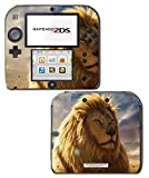 Majestic Male Lion Mane Video Game Vinyl Decal Skin Sticker Cover for Nintendo 2DS System Console