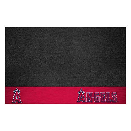 (FANMATS MLB Los Angeles Angels Vinyl Grill Mat)